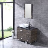 Aldia 36 Single Bathroom Vanity Set with Mirror by Ebern Designs