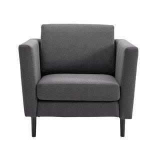 Deroche High Armchair by Wrought Studio