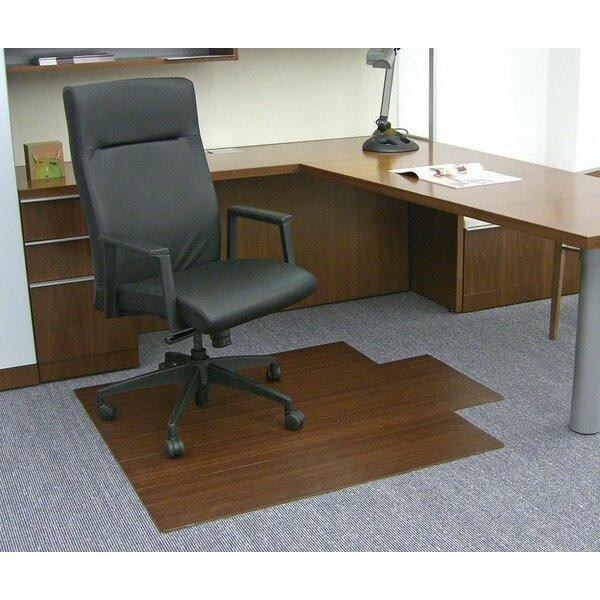 Wildon Home Low Pile And Hardwood Bamboo Office Chair Mat Reviews Wayfair