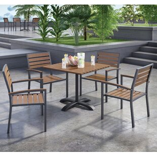 KFI Seating Eveleen 5 Piece Dining Set