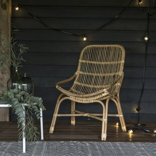 Rotin Dining Chair By Tikamoon