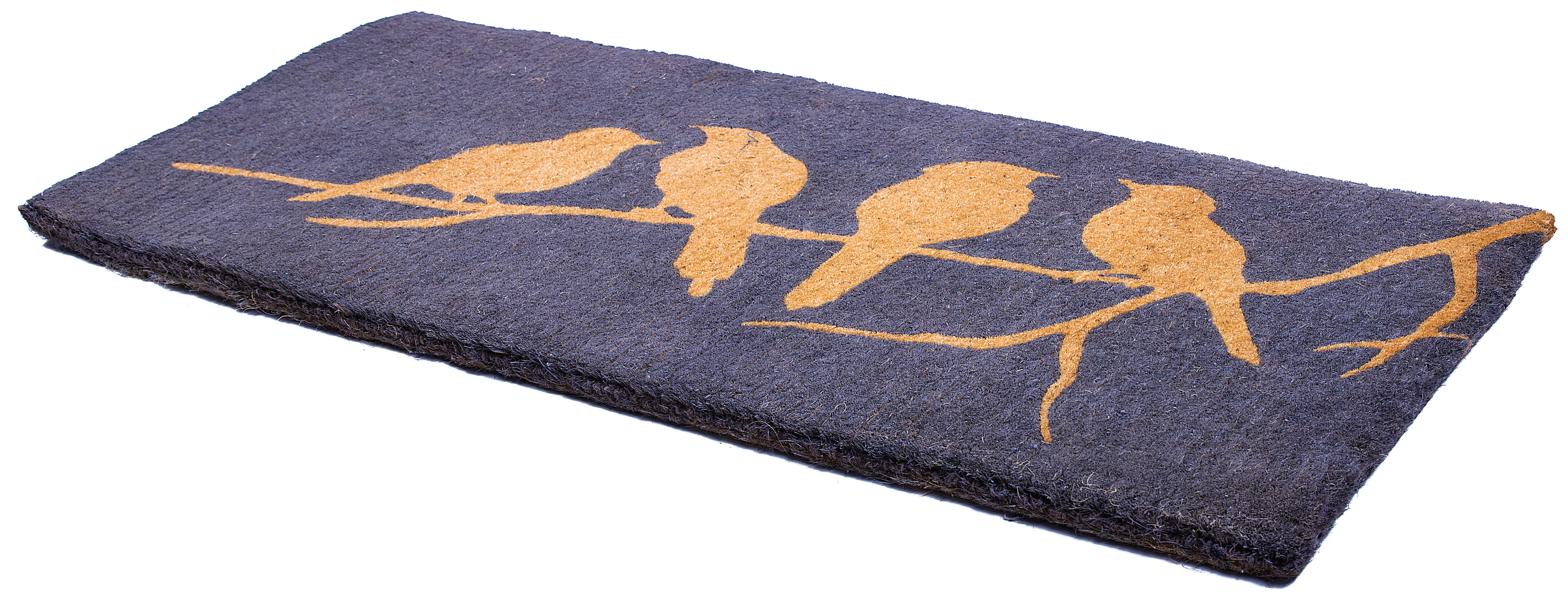 August Grove Sisto Birds On Branch 57 In X 24 In Outdoor Door Mat Wayfair