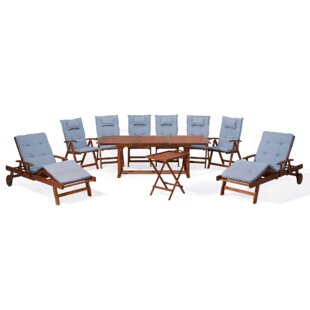 Shante 8 Seater Dining Set With Cushions Image