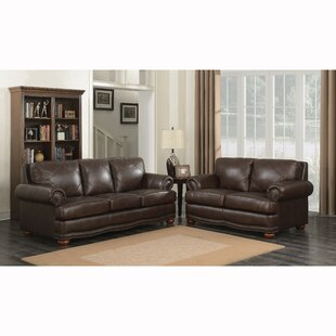 Reviews Wakerobin 2 Piece Leather Living Room Set by Canora Grey Reviews (2019) & Buyer's Guide