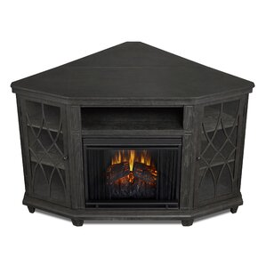 Lynette Corner Electric Fireplace TV Stand b..