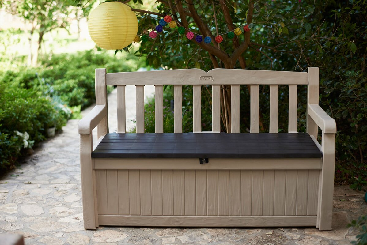 Ellen Patio Storage Bench & Reviews | Joss & Main