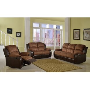 Torian Reclining 3 Piece Living Room Set by Red Barrel Studio