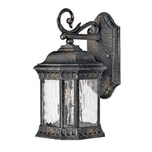 Astoria Grand Delit 2-Light Outdoor Wall Lantern