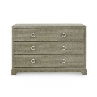 Brittany 3 Drawer Chest by Bungalow 5