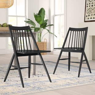 Massey Solid Wood Dining Chair (Set of 2)