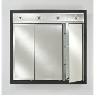 Compare & Buy Eagle 34 x 34 Recessed Medicine Cabinet with Lighting By Charlton Home
