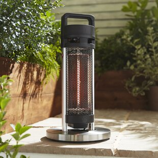 Portable Electric Patio Heater By Swan