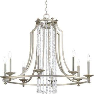 House of Hampton Joines 8-Light Chandelier