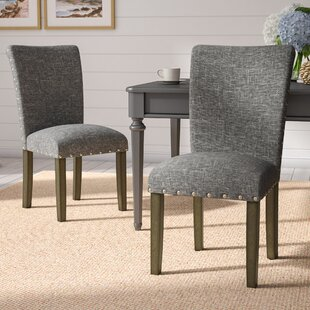 Saxis Classic Parsons Upholstered Dining Chair (Set of 2)