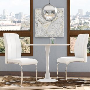 Mixon Upholstered Dining Chair (Set of 2) Wade Logan