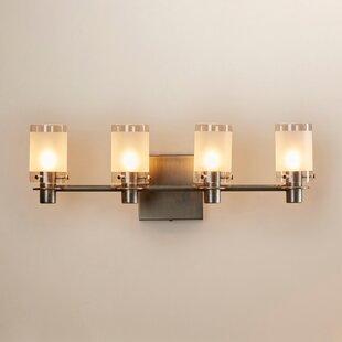 4 Light Vanity Light by George Kovacs by Minka