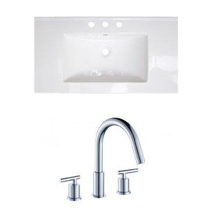 Drake Ceramic 36 Single Bathroom Vanity Top By Royal Purple Bath Kitchen