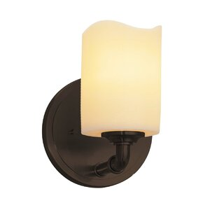 Compare Wantage 1-Light LED Armed Sconce By Loon Peak