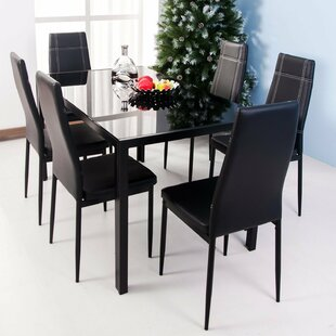 modern dining room tables. Maynard 7 Piece Dining Set Modern Room Sets You Ll Love  Wayfair