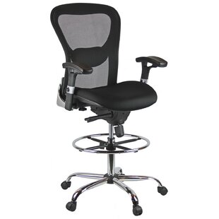 High-Back Mesh Drafting Chair by Harwick Furniture Great price