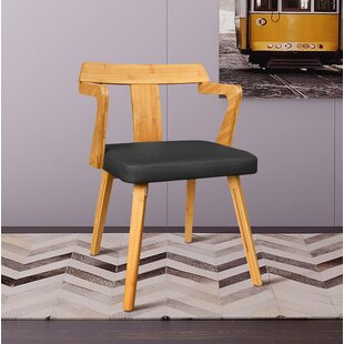 Westervelt Bamboo Upholstered Dining Chair