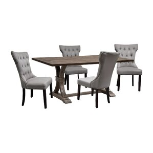 Melyna 5 Piece Dining Set by One Allium Way