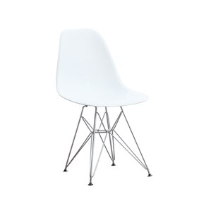 Wire Leg Side Chair (Set of 2) by Fine Mod Imports