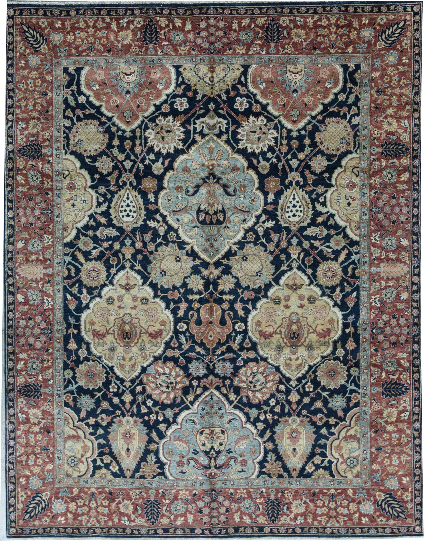 Bokara Rug Co Inc Bakshahesh Oriental Hand Knotted Wool Blue Red Area Rug Wayfair Ca