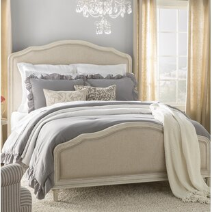 Romaine Upholstered Panel Bed