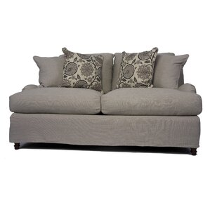 Seacoast Slipcovered Loveseat by Sunse..