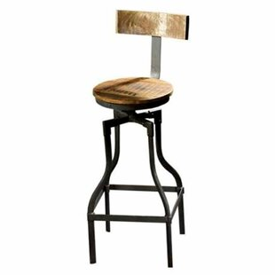 Haynes Adjustable Height Bar Stool Williston Forge