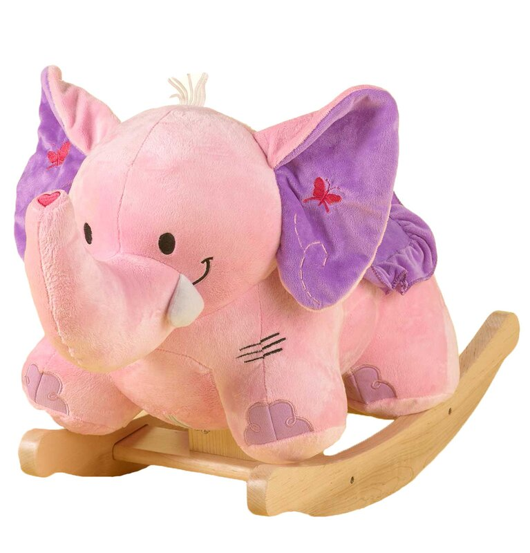 Rockabye Bella the Elephant Rocker & Reviews | Wayfair