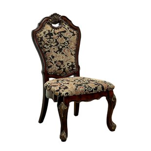 Bartz Traditional Solid Wood Dining Chair..