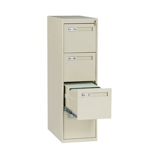 4-Drawer Vertical Filing Cabinet