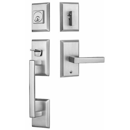 Richmond Satin Nickel Single Cylinder Deadbolt Door Lock