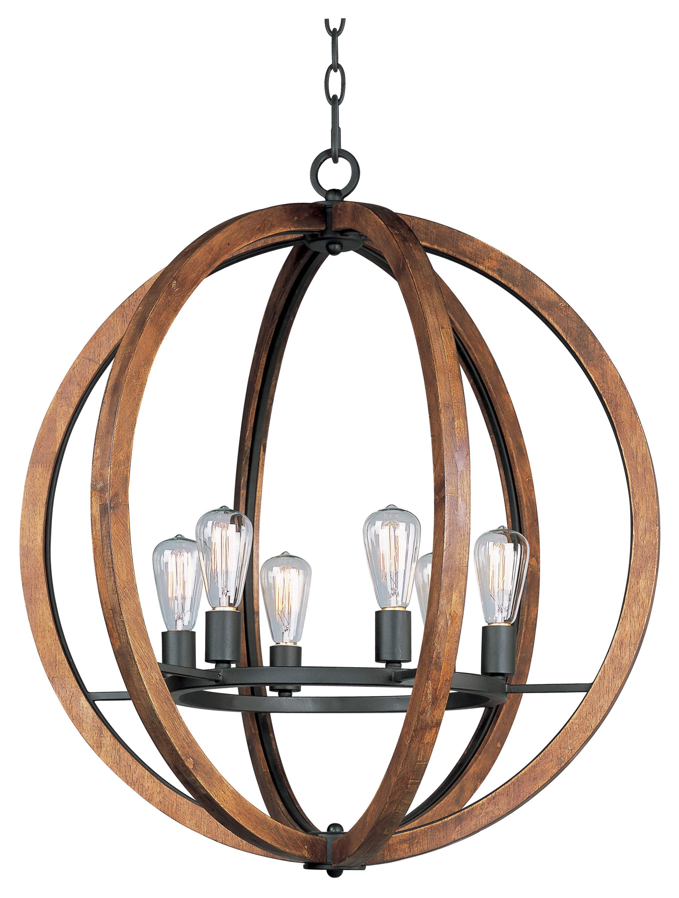 Gilford 6 Light Candle Style Globe Chandelier Reviews Joss Main