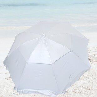 6' Beach Umbrella by Solar Guard