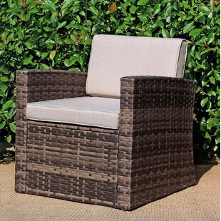 Shmuel Patio Chair with Cushions