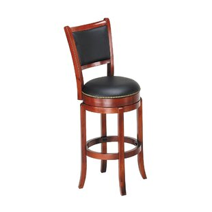 Briony Swivel Bar Stool by Alcott Hill