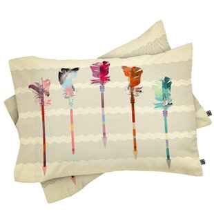 Feathered Arrows Pillowcase (Set of 2)