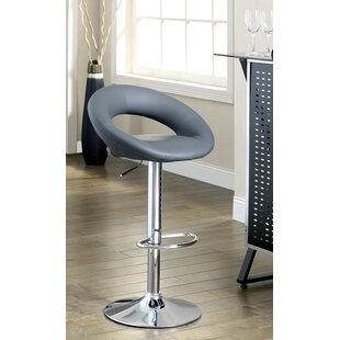 Theory Adjustable Height Swivel Bar Stool (Set of 2)