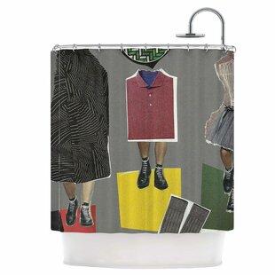 Fashion Single Shower Curtain