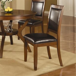 Leigh Woods Upholstered Dining Chair (Set Of 2) by Alcott Hill Cheap