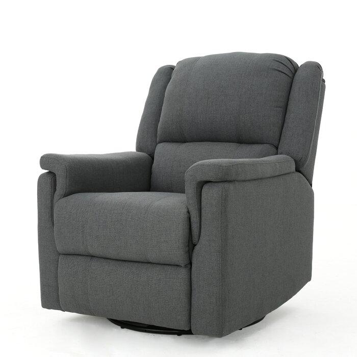 Enjoyable Neoma Manual Swivel Glider Rocker Recliner Unemploymentrelief Wooden Chair Designs For Living Room Unemploymentrelieforg