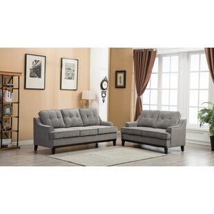 Skye 2 Piece Living Room Set by Alcott Hill