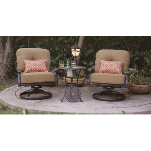 Lebanon 3 Piece Conversation Set With Cushions by Three Posts Design