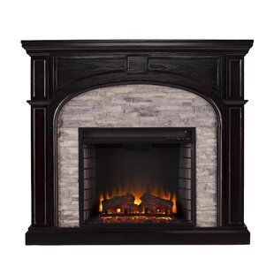 Contreras Infrared Electric Fireplace by Alcott Hill