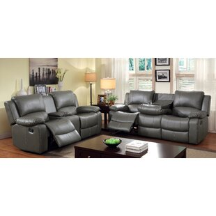 Darby Home Co Wellersburg Reclining Confi..