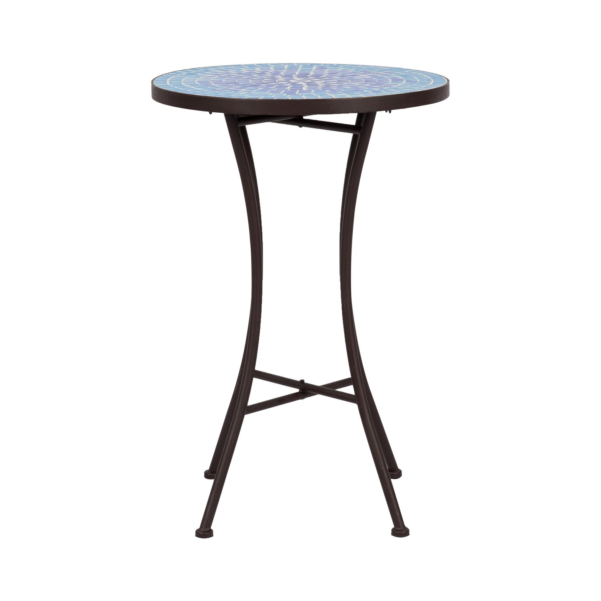 Bay Isle Home Maone Metal Side Table
