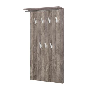 Dill Wall Mounted Coat Rack By Mercury Row